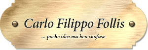 Logo CarloFilippoFollis.name