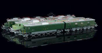 CarloFilippoFollis.name – Ae 8/14 delle SBB-CFF-FFS in scala 1:32, realizzata da Proto Models in tre differenti livree che si riferiscono ai tre differenti momenti storici che visse il locomotore elettrico.
