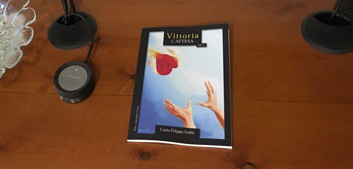 """Profumo di carta: sono state consegnate le prime copie di """"Vittoria ~ L'attesa"""" Vol. 1"""