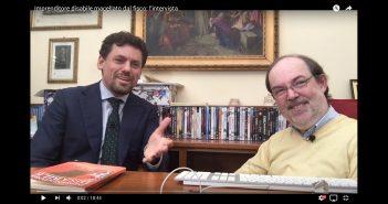 CarloFilippoFollis.name – Il Dott. Luca Ferrini intervista Carlo Filippo Follis, un'immagine tratta dal video dell'intervista.