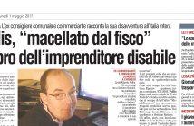 """CarloFilippoFollis.name – La Voce di Chivasso parla della vicenda narrata nel libro """"Imprenditore Disabile macellato dal Fisco italiano"""""""