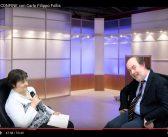 """La Dott.ssa Laura Vanetti di Enpleinair News intervista Carlo Filippo Follis per una puntata di """"Letture di confine"""""""