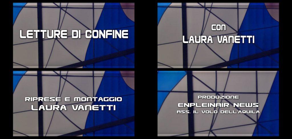 """CarloFilippoFollis.name – La Dott. Laura Vanetti di Enpleinair News intervista Carlo Filippo Follis per una puntata di """"Letture di confine"""", i Credits."""
