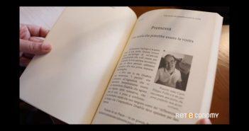 CarloFilippoFollis.name – La Dott.ssa Valentina Valente di Reteconomy/Sky intervista Carlo Filippo Follis, un'immagine tratta dal video dell'intervista