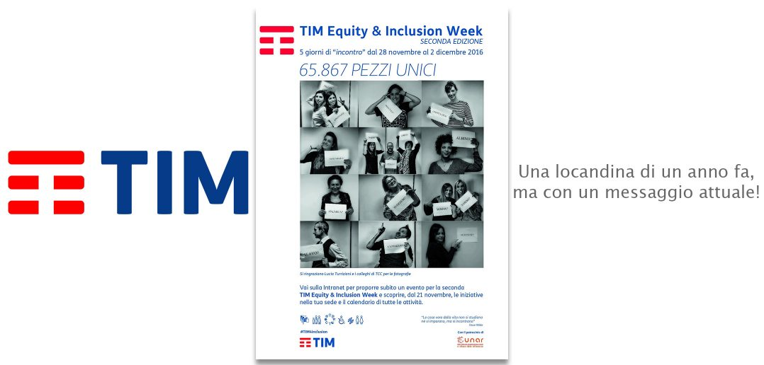 CarloFilippoFollis.name – TIM: Inclusion Week 2017
